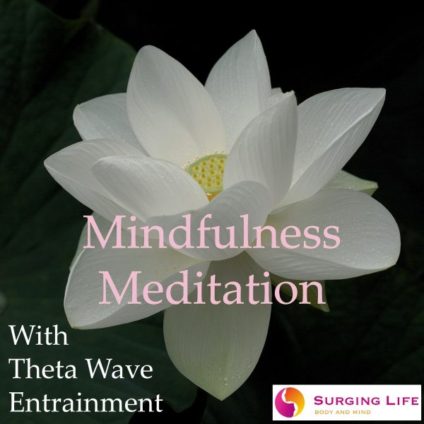Guided Mindfulness Meditation mp3 With Theta Wave Music