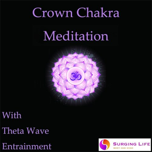 Crown Chakra Meditation Guided mp3 With Theta Wave Music